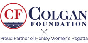 "Colgan Foundation logo with text ""Proud Partner of Henley Women's Regatta"""